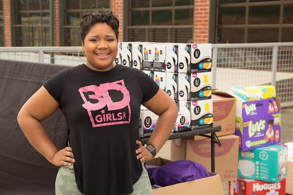 3D Girls Inc T-Shirt